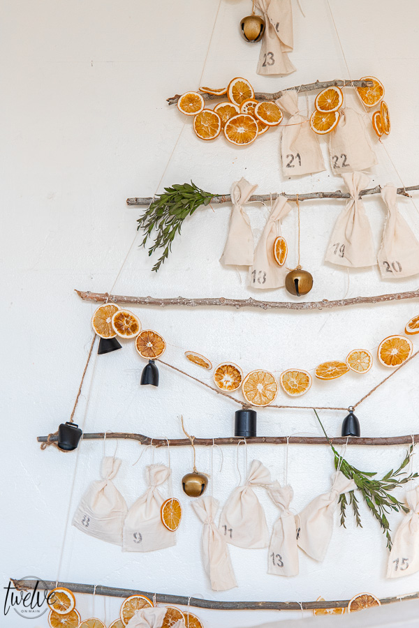 Simple Scandinavian Inspired Advent Calendar DIY